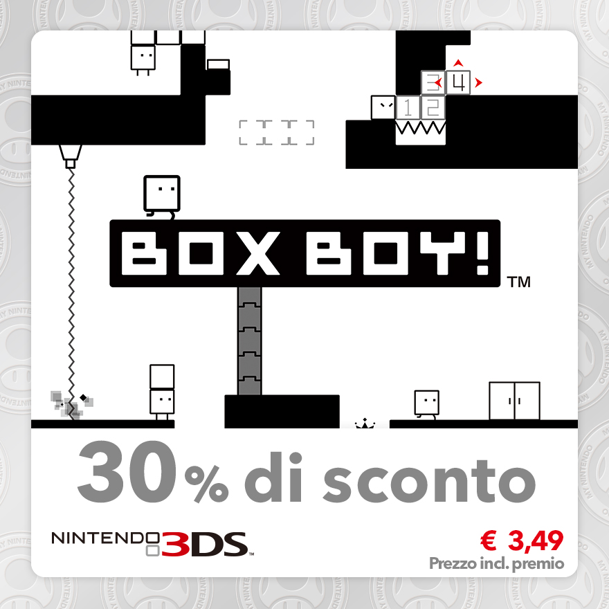 Sconto del 30% su BOXBOY!