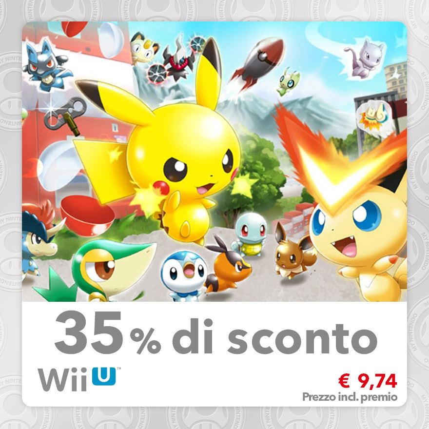 Sconto del 35% su Pokémon Rumble U