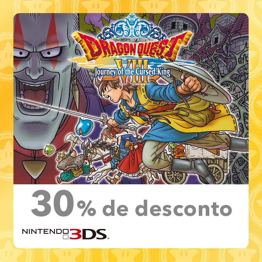30 Discount On Dragon Quest Viii Journey Of The Cursed King