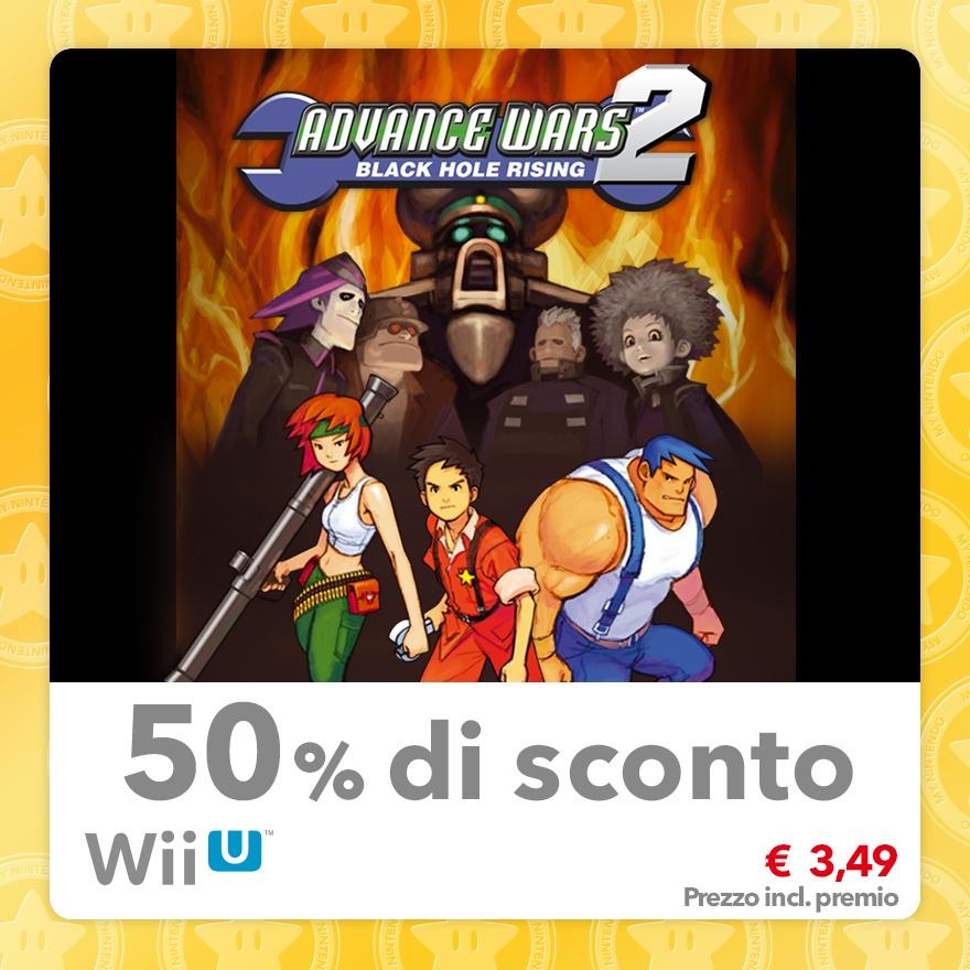 Sconto del 50% su Advance Wars 2: Black Hole Rising (Virtual Console GBA)