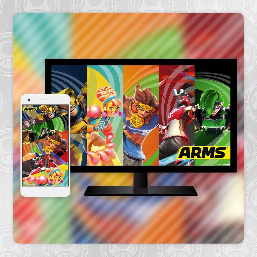 Sfondo - ARMS (All-Stars 3)