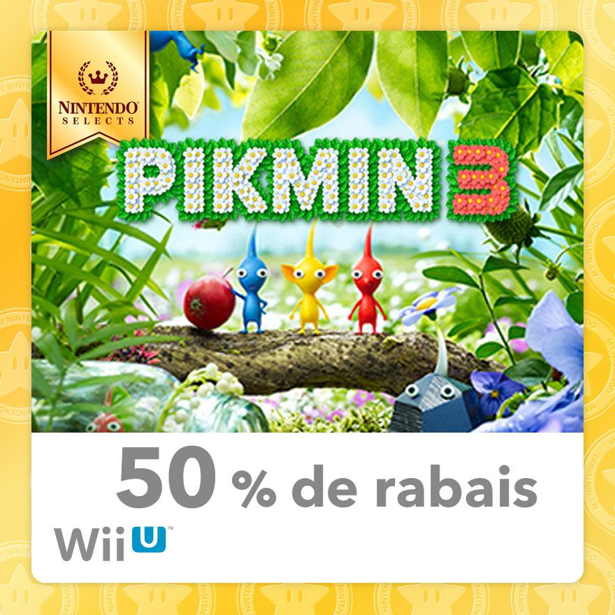 50% Discount on Pikmin 3 (Wii U)   Rewards   My Nintendo