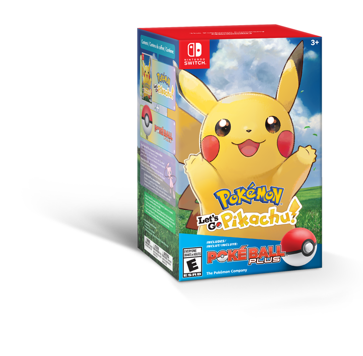 Pikachu Boke ball plus bundle