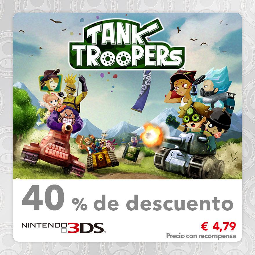 40 % de descuento en Tank Troopers