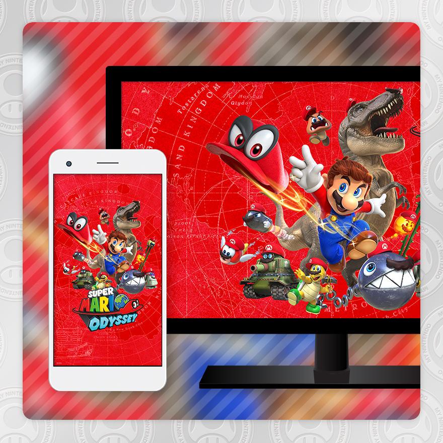 Sfondo - Super Mario Odyssey (Cappy)