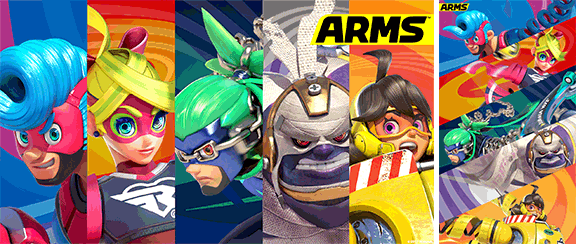 ... a special new ARMS wallpaper. It features Spring Man, Ribbon Girl, Ninjara, Master Mummy and Mechanica, so be sure to redeem your My Nintendo points and ...