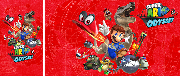Wallpaper Super Mario Odyssey Red Rewards My Nintendo