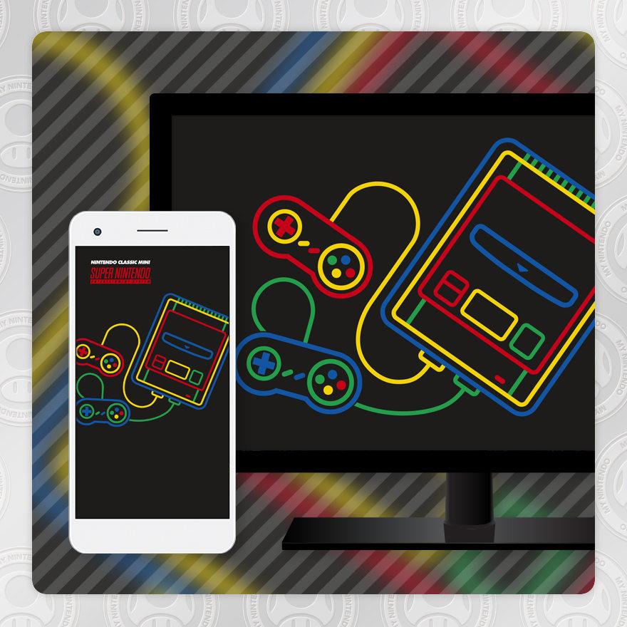 Sfondo - Nintendo Classic Mini: Super NES