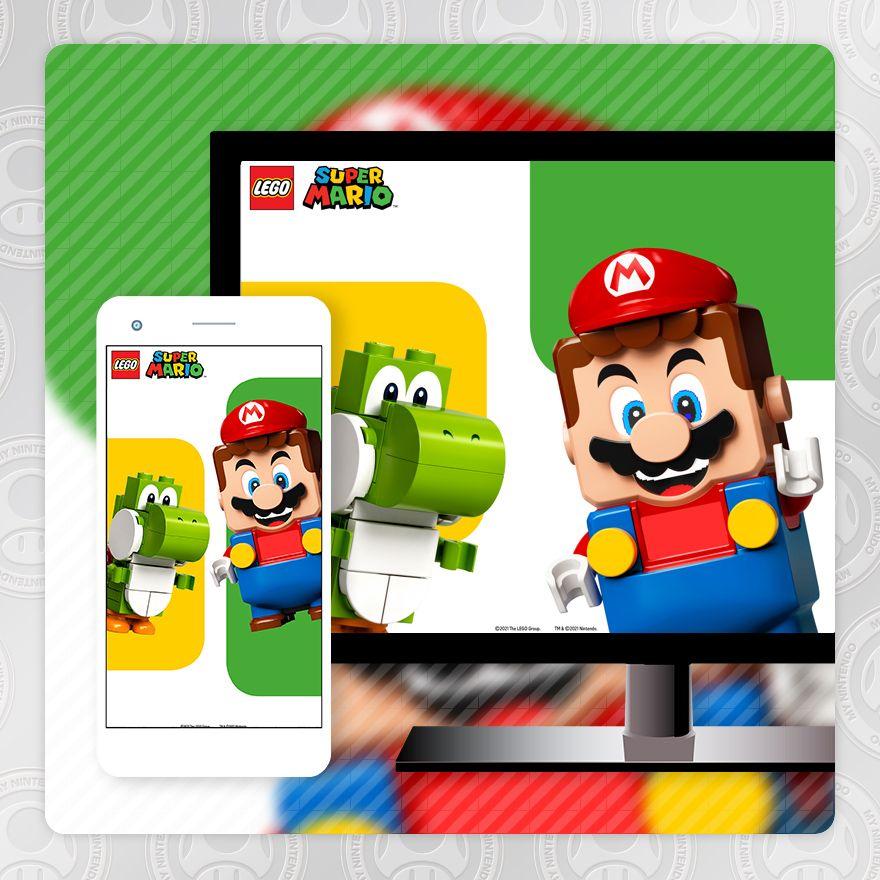Fondo de pantalla – LEGO® Super Mario™: Mario y Yoshi