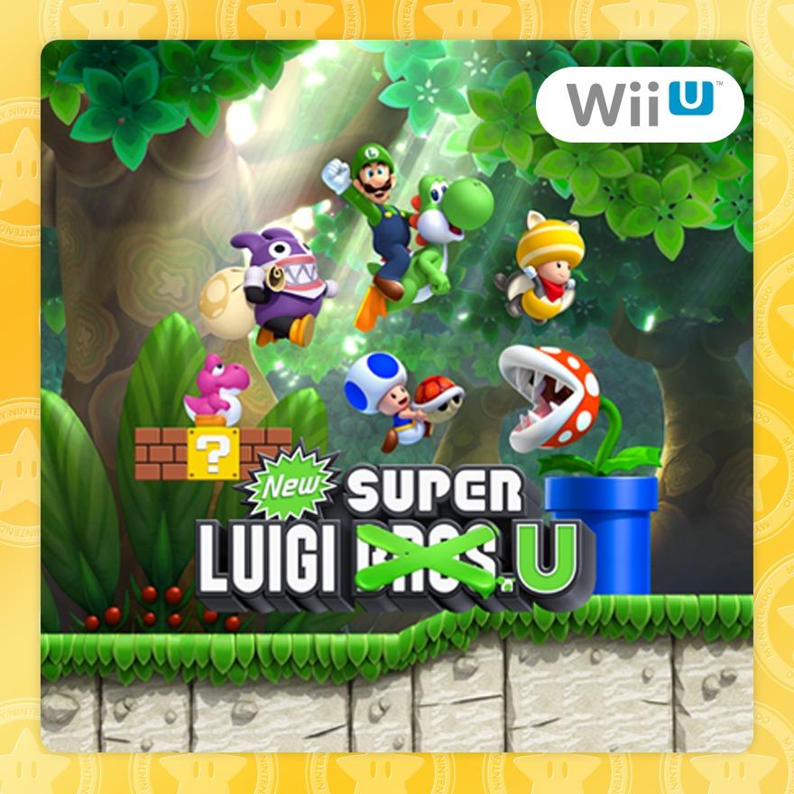 New Super Mario Bros. U DLC: New Super Luigi U