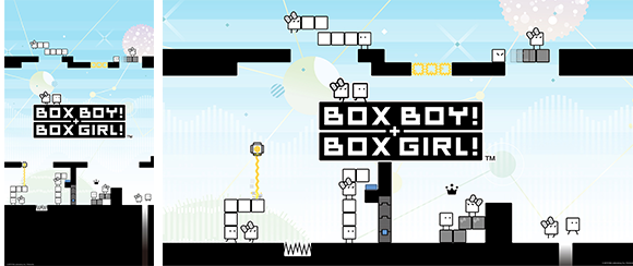 Wallpaper Boxboy Boxgirl Rewards My Nintendo