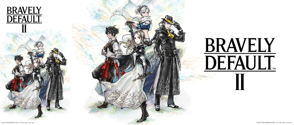 Bravely Default™ II Wallpaper