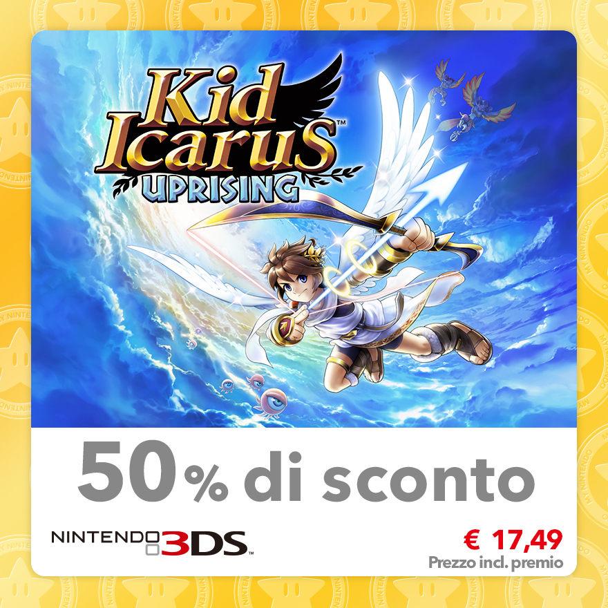 Sconto del 50% su Kid Icarus: Uprising