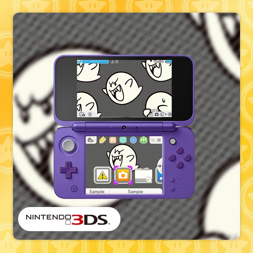 Nintendo 3DS theme: Bountiful Boos | Rewards | My Nintendo