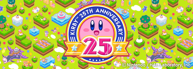 Its Been 25 Years Since KirbyTM Made His US Debut In The Kirbys Dream LandTM Game Now Thats Worth Celebrating Nintendo Is Doing Just That With Lots Of