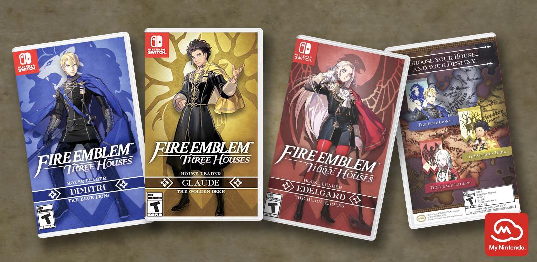Printable - Fire Emblem™: Three Houses box art cover | Rewards ...