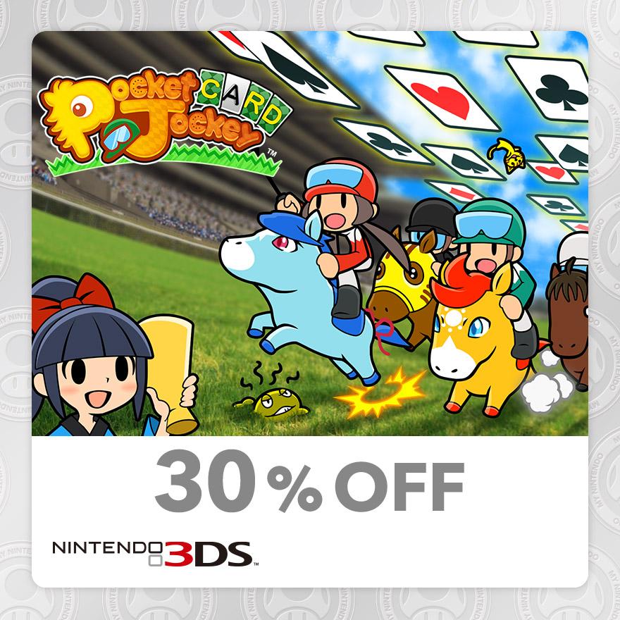 30% Discount on Pocket Card Jockey (Nintendo 3DS)