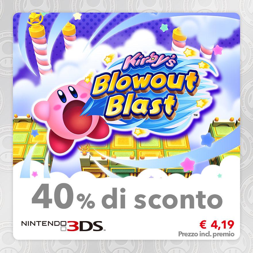 Sconto del 40% su Kirby's Blowout Blast