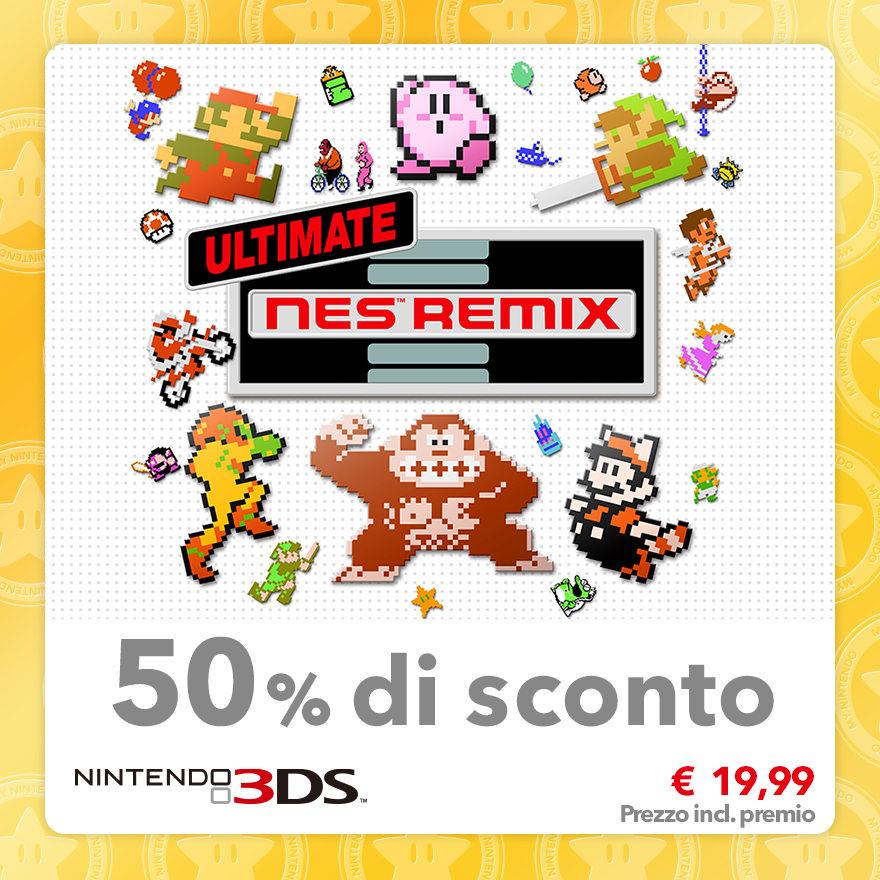 Sconto del 50% su Ultimate NES Remix