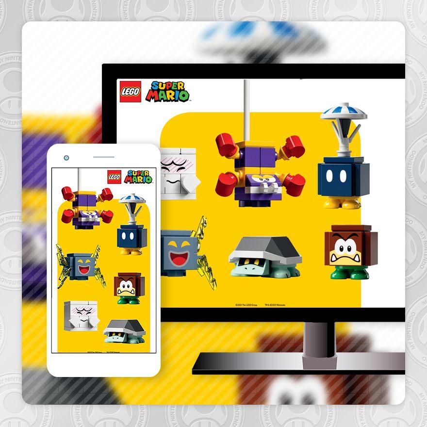 Fondo de pantalla – LEGO® Super Mario™: enemigos