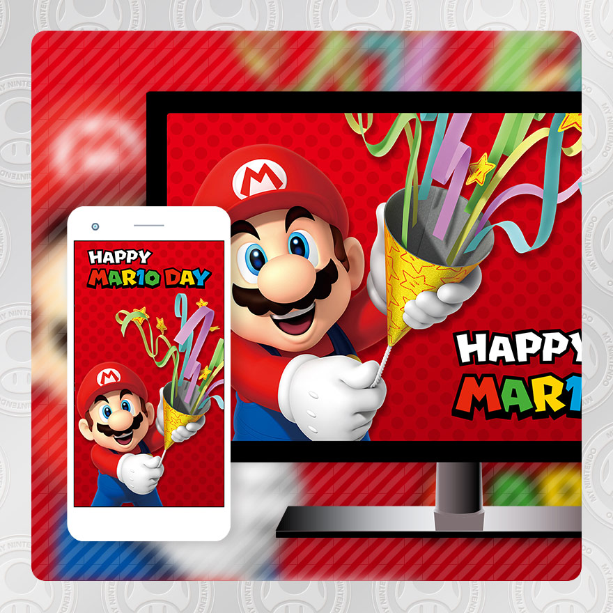 Mario Day wallpaper2
