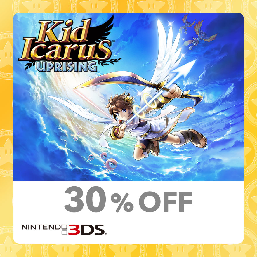 30% Discount on Kid Icarus™: Uprising (Nintendo 3DS)