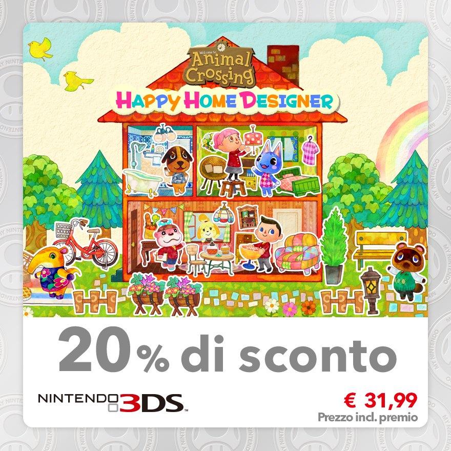 Sconto del 20% su Animal Crossing: Happy Home Designer