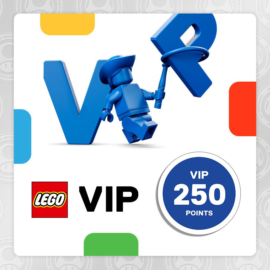 250 puntos VIP LEGO®