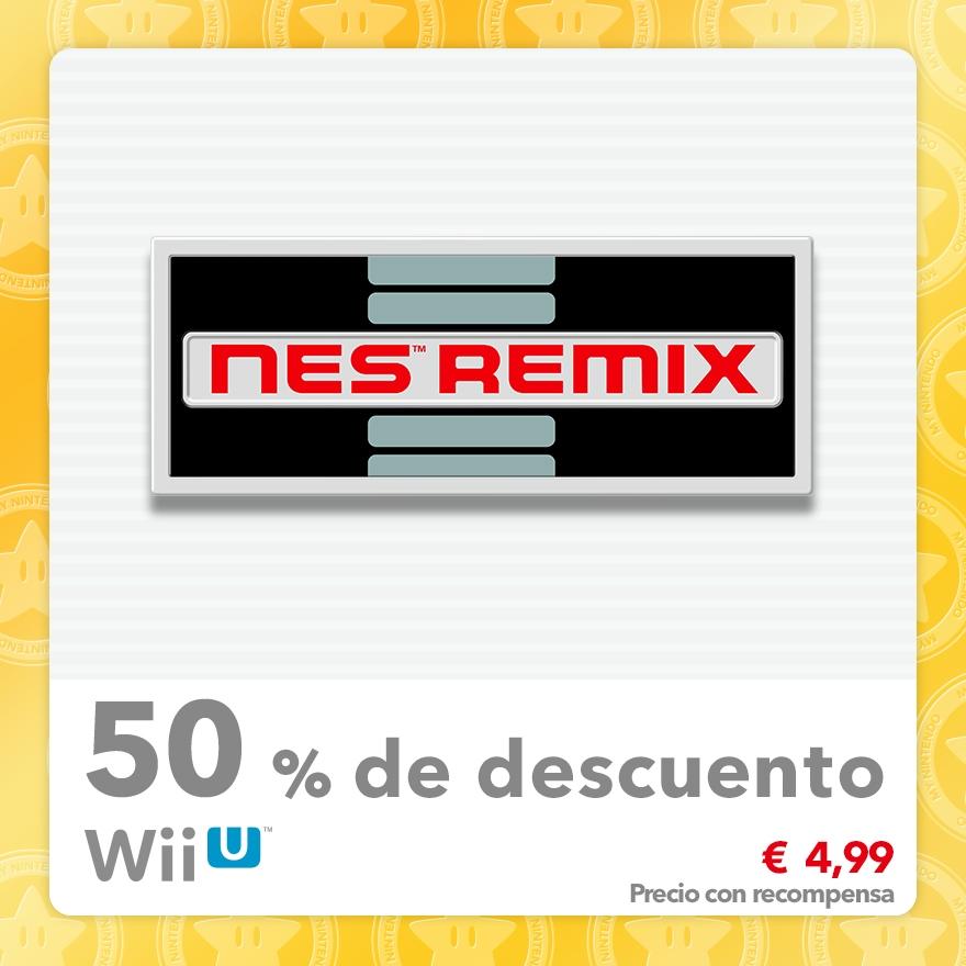 50 % de descuento en NES Remix