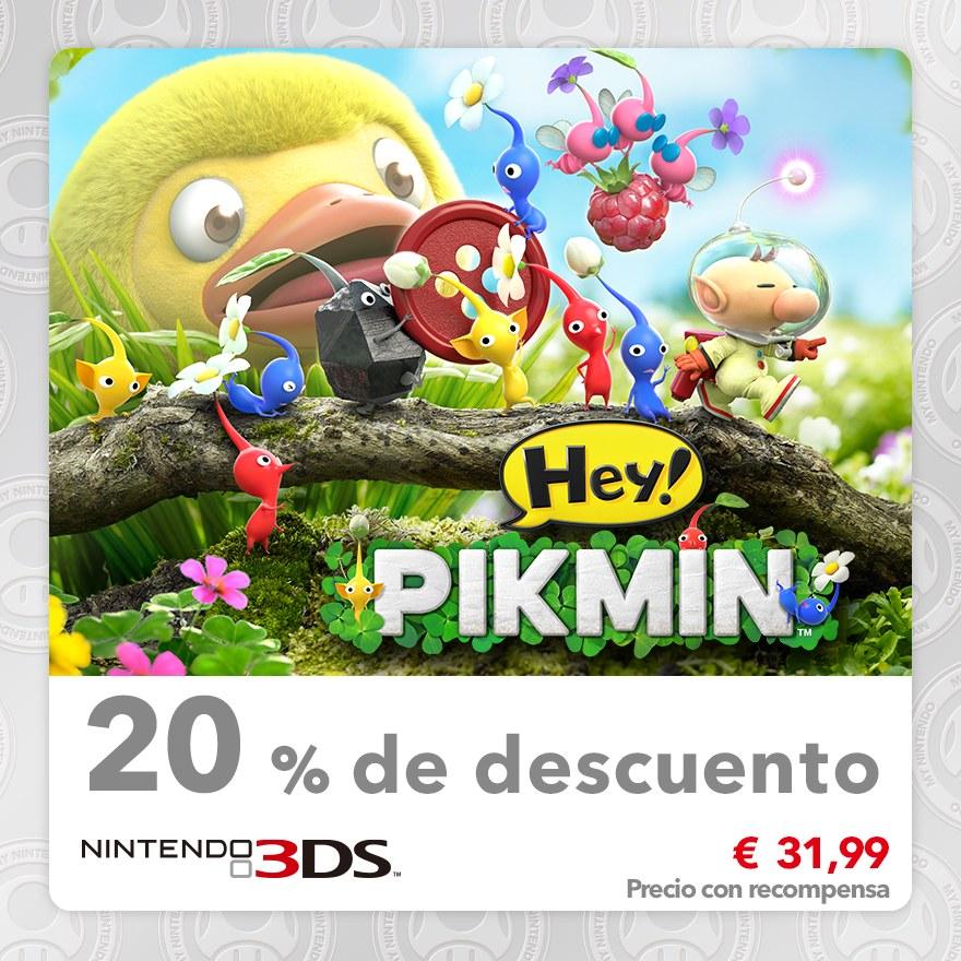 20 % de descuento en Hey! Pikmin