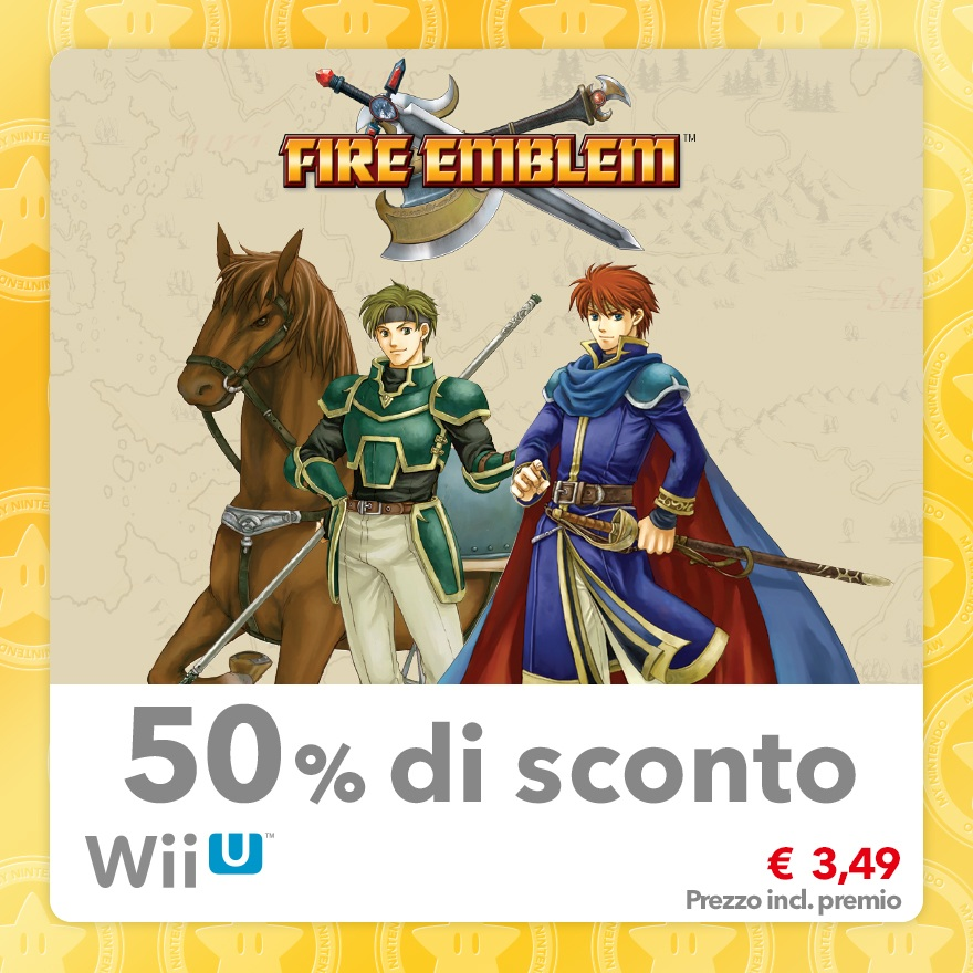Sconto del 50% su Fire Emblem (Virtual Console GBA)