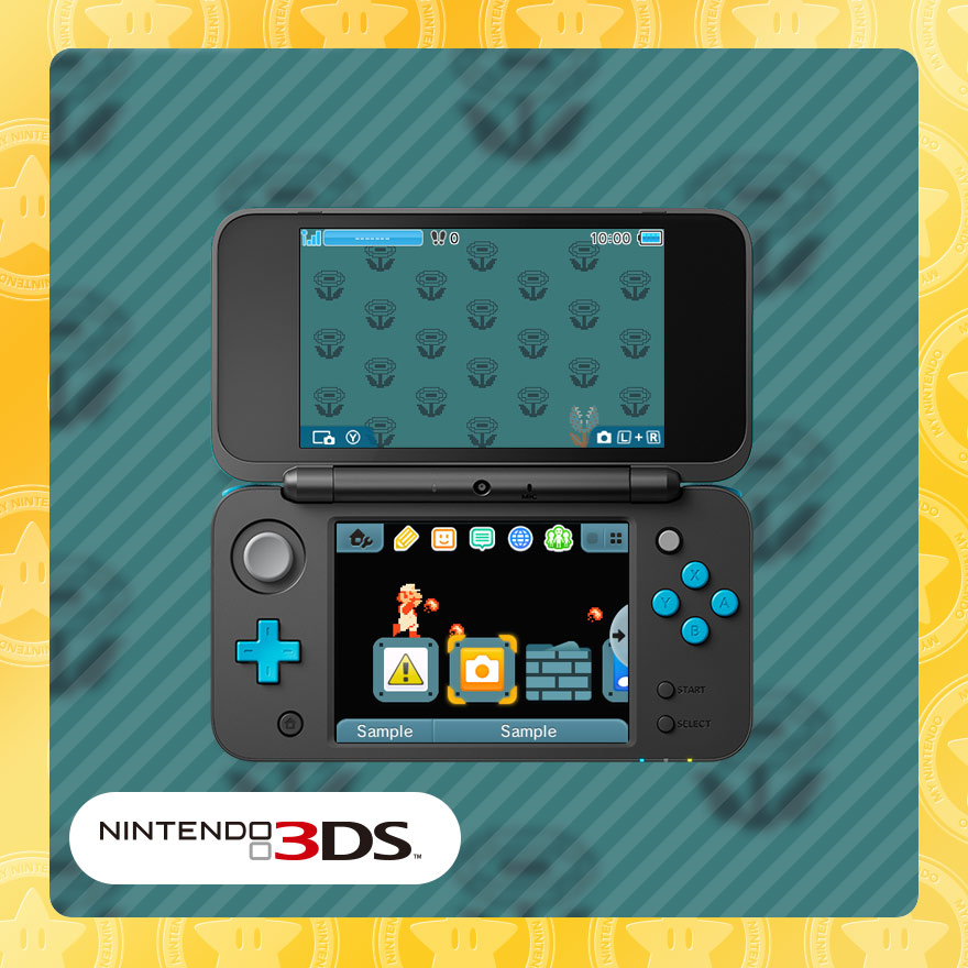 Nintendo 3DS theme: NES™: Fire Mario