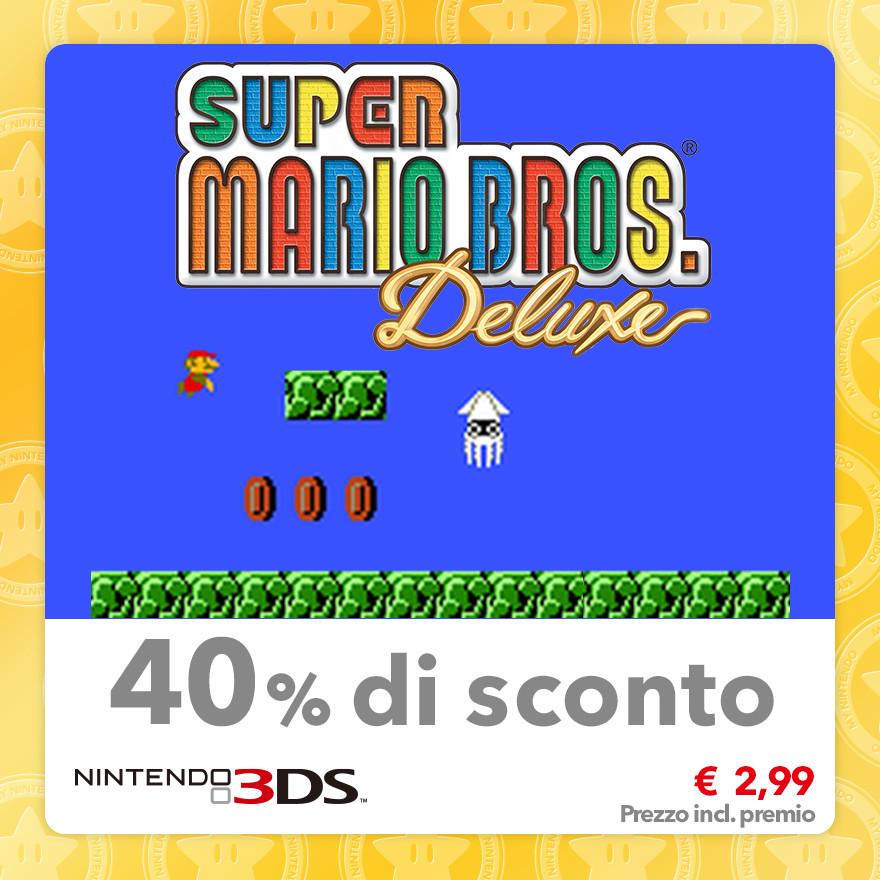 Sconto del 40% su Super Mario Bros. Deluxe (Virtual Console GBC)