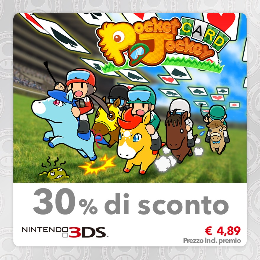 Sconto del 30% su Pocket Card Jockey