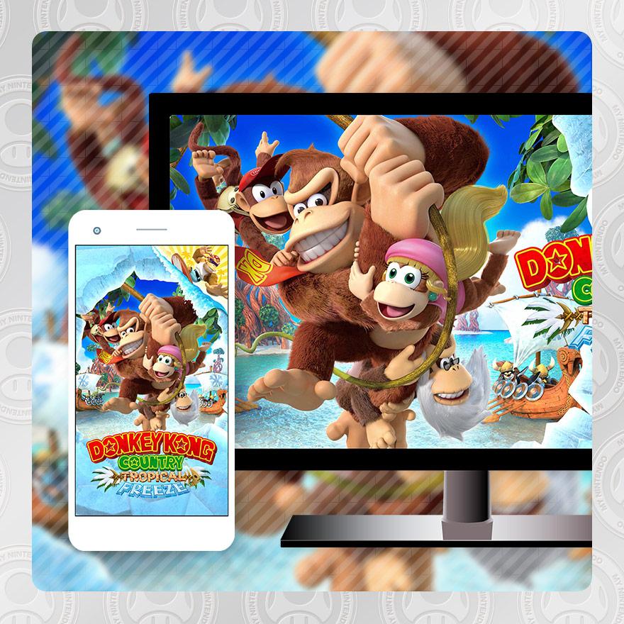 Swing Into Action With Donkey Kong Country Tropical Freeze My