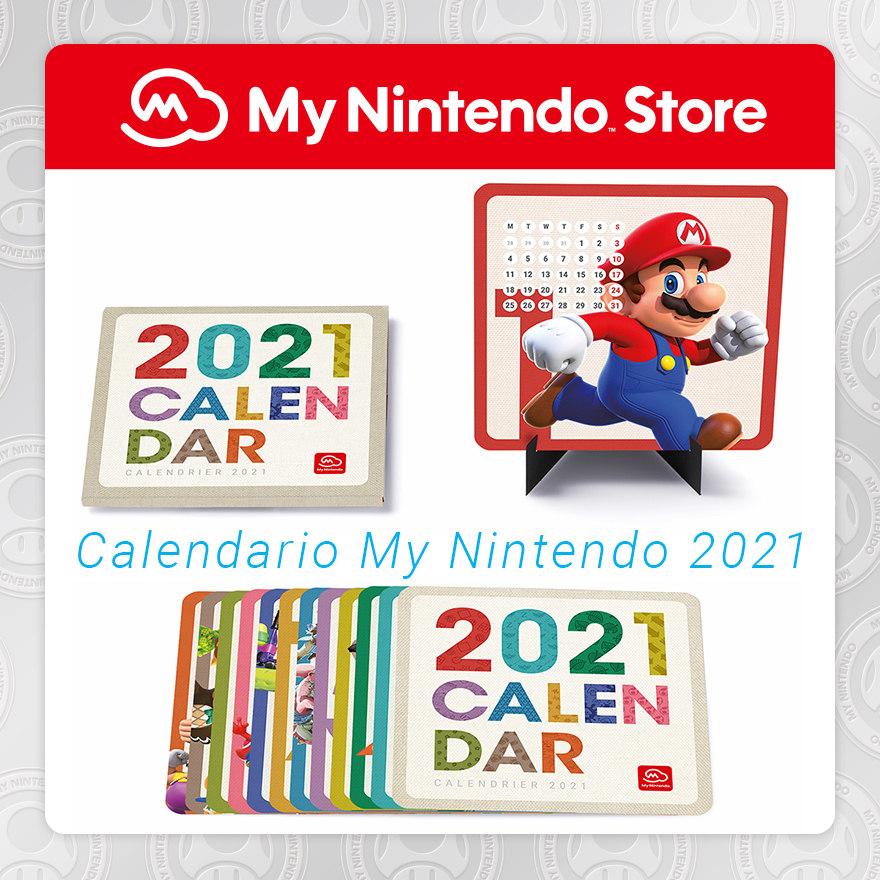 Calendario My Nintendo 2021